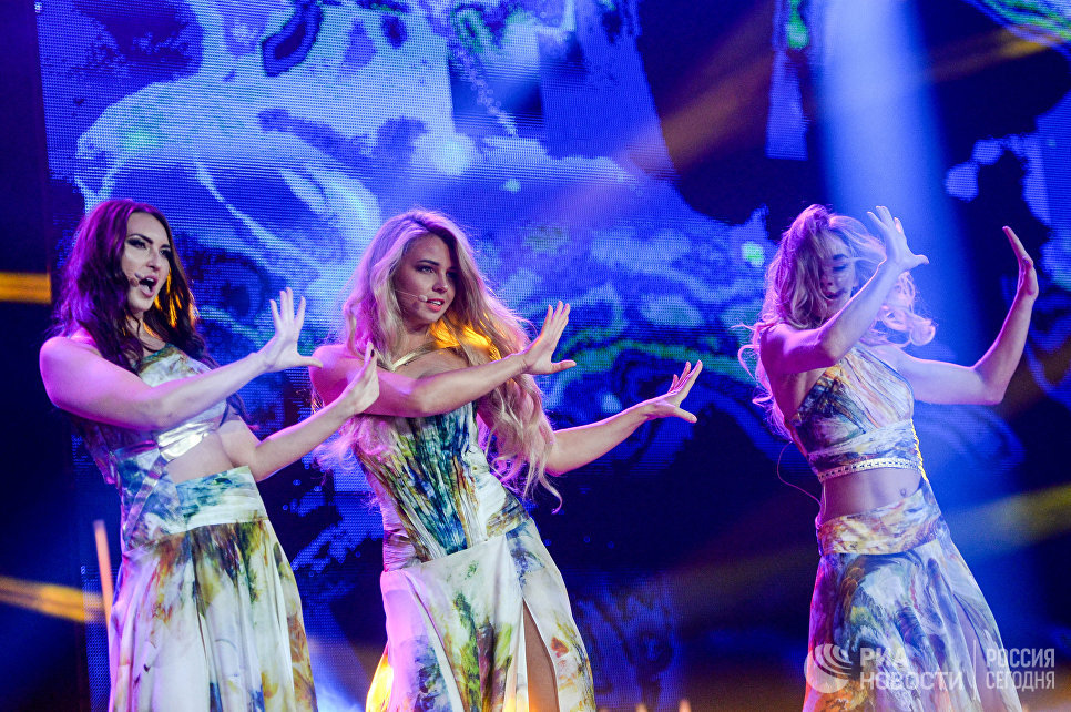 Артисты на всероссийском конкурсе красоты Мисс Русское радио в Барвиха Luxury Village в Москве