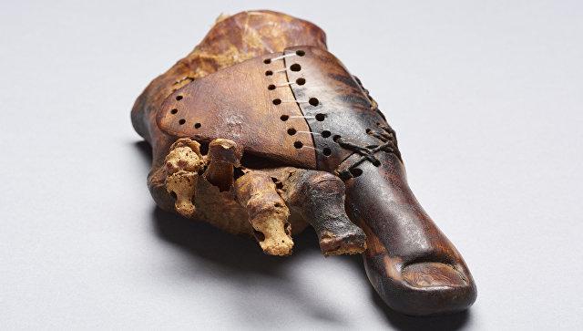 Археологи отыскали вЕгипте самый старинный протез наЗемле
