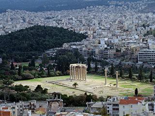 Вид на Афины. Архивное фото