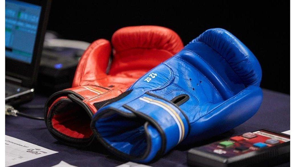 Боксерские перчатки. Архивное фото
