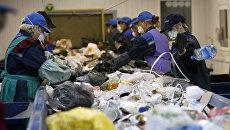 Переработка мусора. Архивное фото
