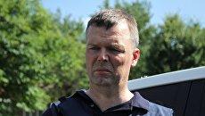 Первый заместитель главы Специальной мониторинговой миссии ОБСЕ на Украине Александр Хуг. Архивное фоторода Ясиноватая Донецкой области. 23 июня 2017