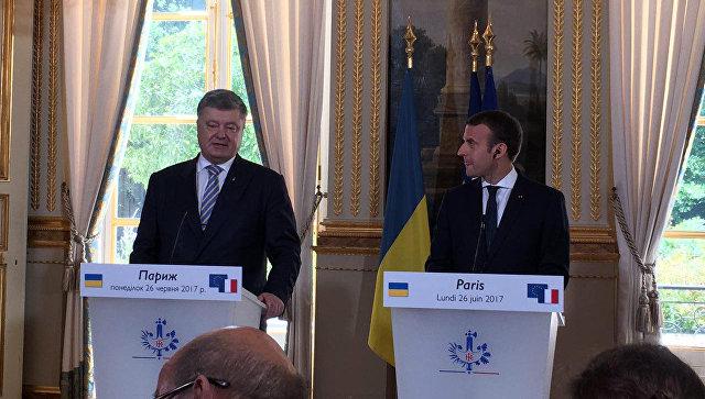 Франция непризнает аннексию Крыма— Макрон