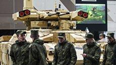 Боевая машина поддержки танков БМПТ-72. Архивное фото