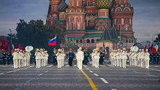Президентский оркестр на фестивале Спасская башня