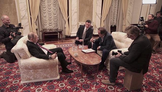 Практически треть граждан России поглядела фильм Оливера Стоуна оПутине