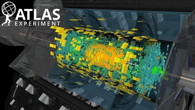 Результаты столкновений ионов свинца и протонов на обновленном БАК