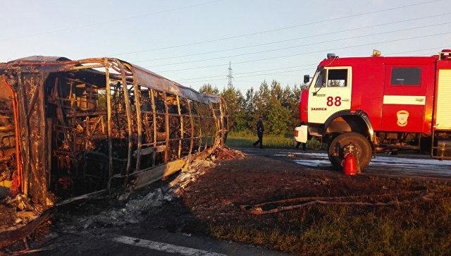 ВТатарстане в итоге столкновения автобуса и грузового автомобиля погибли 14 человек