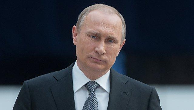 Путин выразил соболезнования в связи с крушением иранского самолета