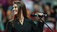 Олимпийская чемпионка по художественной гимнастике Алина Кабаева. Архивное фото