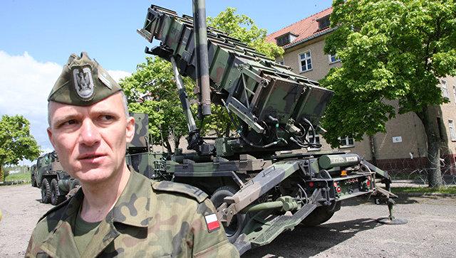 Американский ракетный комплекс Patriot в Польше. Архивное фото