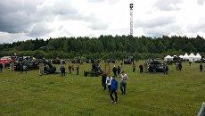 Минобороны РФ представило технику на рок-фестивале Нашествие. Архивное фото