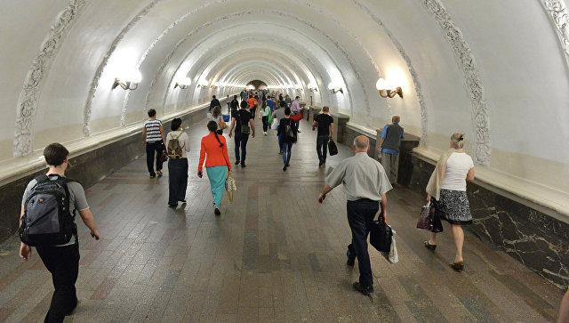 Московское метро. Архивное фото