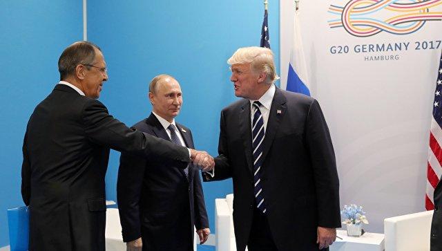 Лавров: Трамп неотказался отнамерения улучшать отношения сРоссией