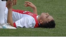 Игрок Аякса потерял сознание