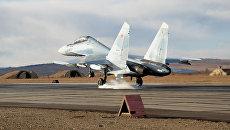 Истребитель Су-30СМ. Архивное фото