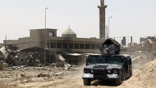 Иракские военные в Мосуле. 9 июля 2017