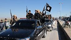 Боевики ИГ на северо-востоке Сирии. Архивное фото