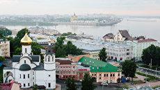 Центр Нижнего Новгорода. Архивное фото