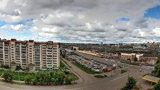 Панорама Челябинска. Архивное фото