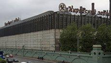 Пожар на Кировском заводе в Санкт-Петербурге