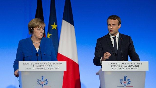Правительство ФРГ подтвердило, что Меркель и Макрон направили Путину письмо