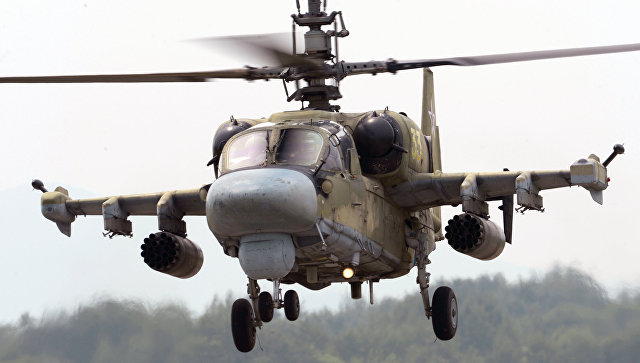 Инженерный  имидж  русского  боевого вертолета определят к 2019г.