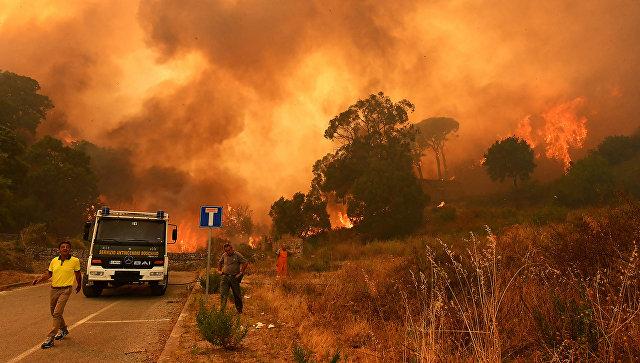 Итальянский пожарный совершал поджоги в поисках адреналина