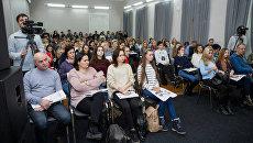 День открытых дверей в Московском институте Телевидения и Радиовещания Останкино. Архивное фото
