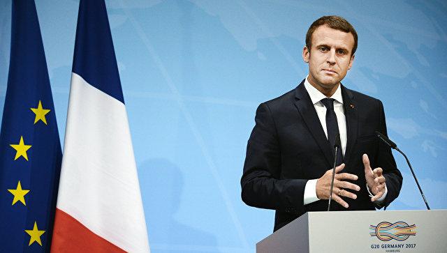 Макрон: Сотрудничество Парижа и Москвы по Сирии совершенно изменилось