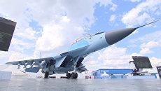 Воздушные маневры многоцелевого МиГ-35: новейший истребитель России в действии