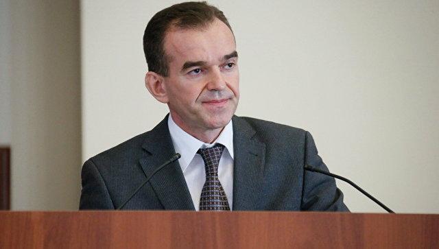 Губернатор Краснодарского края Вениамин Кондратьев. Архивное