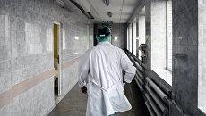Врач в больнице. Архивное фото