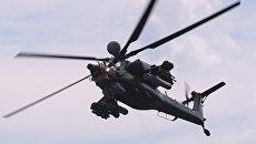 Ударный вертолёт Ми-28НМ. Архивное фото