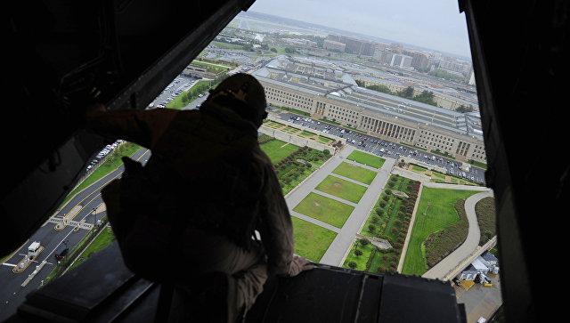 Пентагон с борта самолета. Архивное фото
