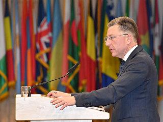 Спецпредставитель США по Украине Курт Волкер. Архивное фото