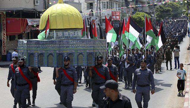 Израиль убирает все защитные здания наХрамовой горе