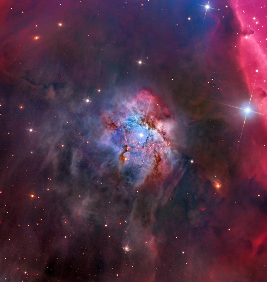Работа фотографа Warren Keller NGC 2023, вошедшая в шорт-лист Insight Astronomy Photographer of the Year 2017