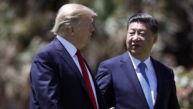 Дональд Трампа и Си Цзиньпин. Архивное фото
