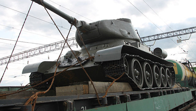 Танк Т-34-85. Архивное фото