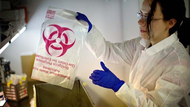 Герметичный пакет для работы с биологически активными материалами