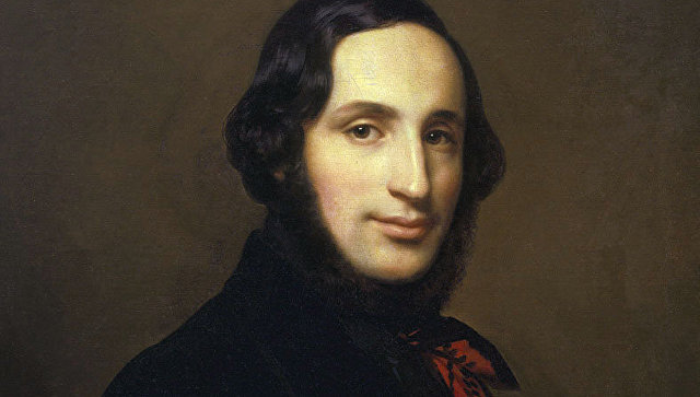 Портрет И. Айвазовского работы А. Тыранова (1841)