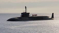 Атомная подводная лодка Юрий Долгорукий