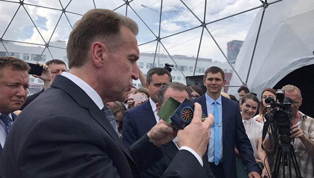 Игорь Шувалов во время рабочей поездки в Ижевск. 1 августа 2017