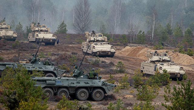 Учения войск НАТО на территории Литвы. Архивное фото