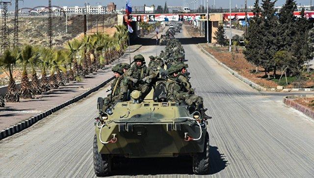 Отправка военных инженеров международного противоминного центра ВС РФ из Алеппо. Архив