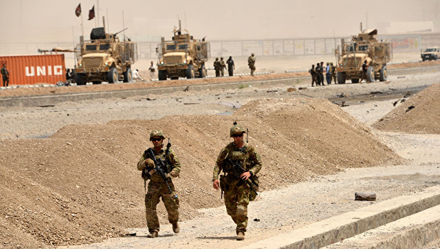Американские военные в Афганистане. Архивное фото