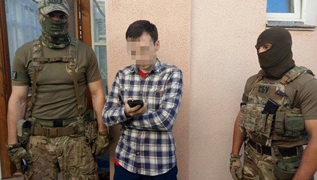 Задержание журналиста Василия Муравицкого сотрудниками СБУ