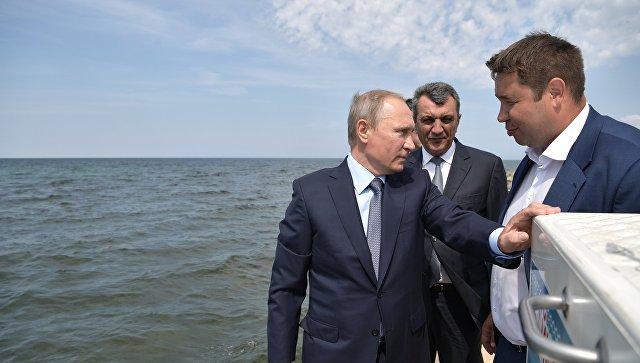 Сергей Левченко несмог назвать президенту стоимость возведения дороги наОльхоне