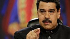 Президент Венесуэлы Николас Мадуро. 22 июня 2017